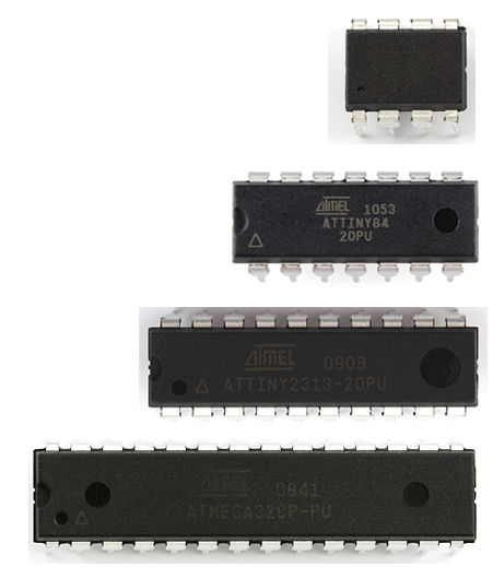 Comparison of ATmel chips – The Wandering Engineer