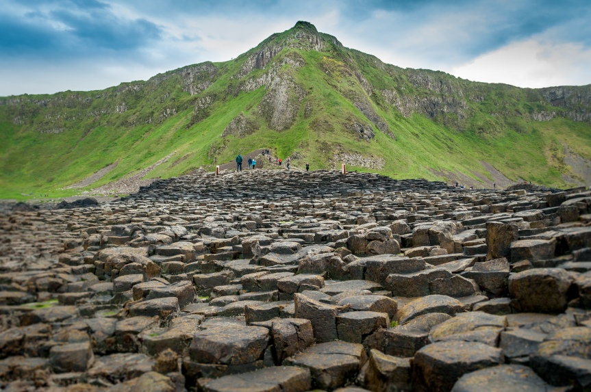 Photo Friday – Giant's Causeway Cliff