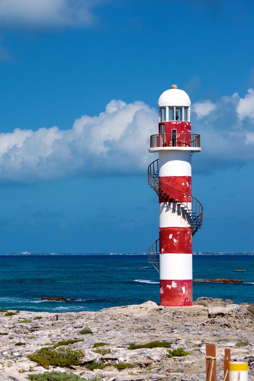 Photo Friday – Cancun Lighthouse