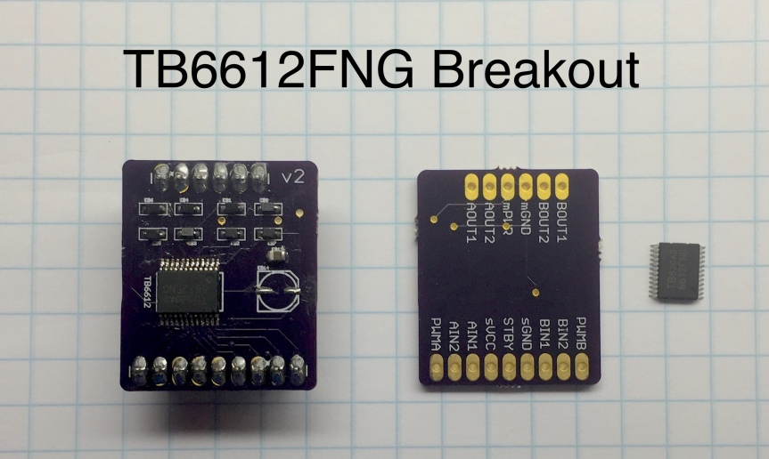 TB6612FNG Motor Driver BreakoutBoard