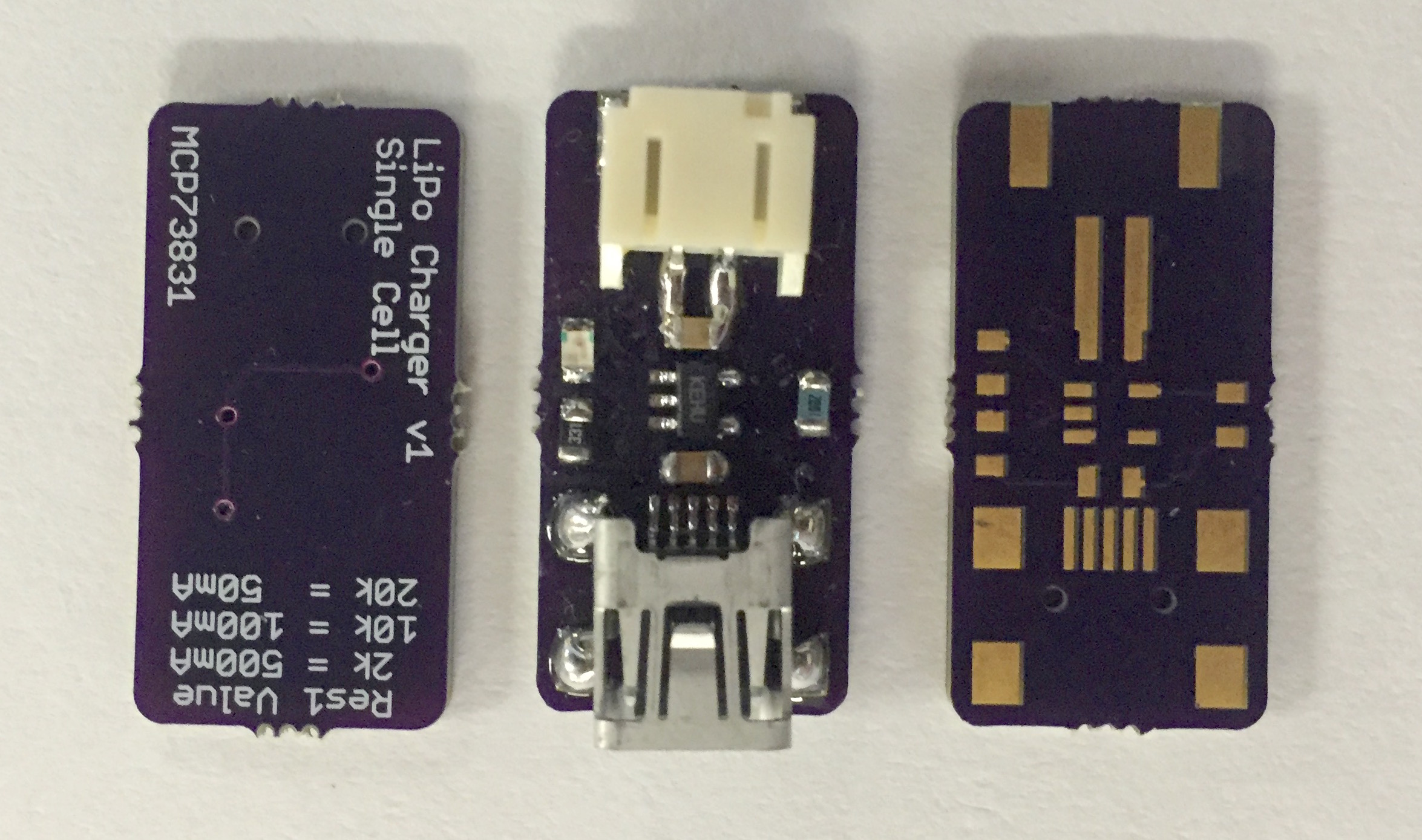 Simple Lipo Battery Charger With The Mcp73831 Wandering Engineer Via Mini Usb Port On Charging Circuit Or Solar Img 5770