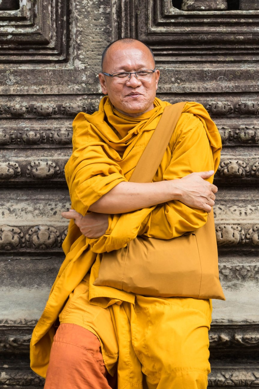 Photo Friday – Cambodian Monk