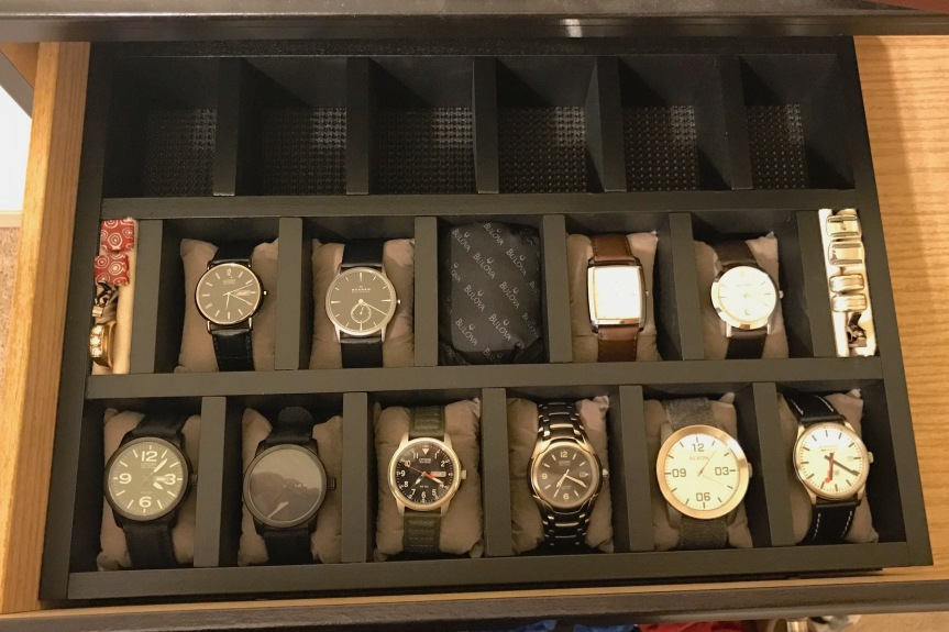 DIY Custom Watch Storage Case